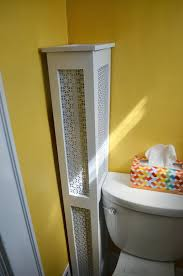 Decorative Radiator Covers Home Depot by Pole Wrap 96 In X 12 In Mdf Basement Column Cover Column