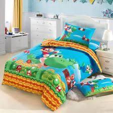 Kids Bed Sets Mario Bed Set Ebay