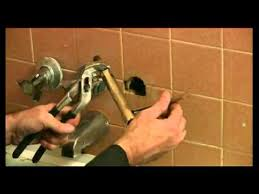 replacing bathtub faucets how to remove bathtub faucet stems youtube