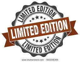 limited edition limited edition st sticker seal stock vector 562226305