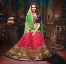 wedding wear saree crafted with net u0026 karachi pallu saree is