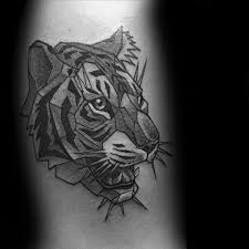 50 geometric tiger designs for striped geometry ideas