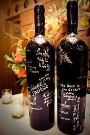 wine bottle guestbook how to spray paint wine bottles wine bottle guest books