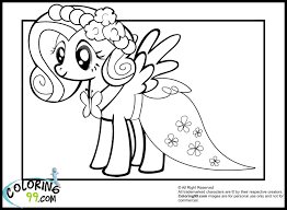 my little pony fluttershy coloring pages getcoloringpages com
