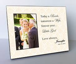wedding gift personalized parents wedding gift parents of the personalized picture