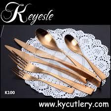 Luxury Cutlery by Copper Silverware Brass Dinner Set Brass Cutlery Buy Brass