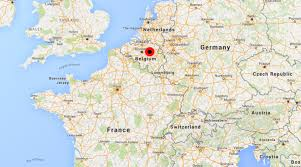 belgium and netherlands map 1st time highest level terror alert in belgium borders