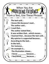 prove it finding evidence task cards prove it task cards and