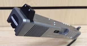 custom glock 20 10mm lone wolf slide w threaded barrel