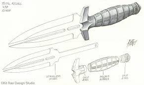 Printable Knife Templates Kit Rae Fantasy Art Other Knives List