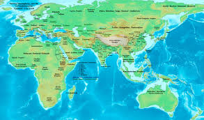 Map Of India States by Map Of India 6th Century B C