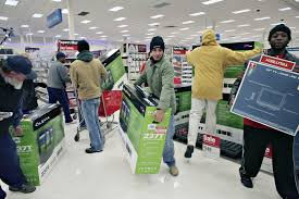 is target opening at midnight on black friday these photos prove black friday is the true american bloodsport