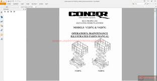 scissor lift parts list 22 grove scissor lift service manual