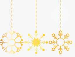 refined gold snowflake ornaments refinement decorations