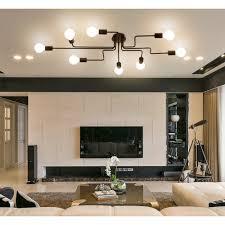 Suche Wohnzimmer Bar Vintage Deckenleuchte Frideko Diy Industrie Kreative Deckenlampe