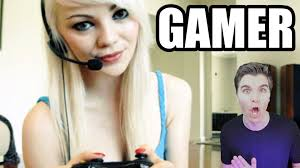 Girls Playing Video Games Meme - girl gamers aka women who play video games youtube