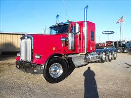 w900l used 2015 kenworth w900l tri axle sleeper for sale in ms 6434