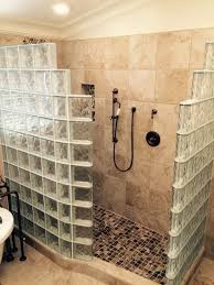 Curved Shower Bath My Customer S Top 5 Fears Of A Glass Block Walk In Shower