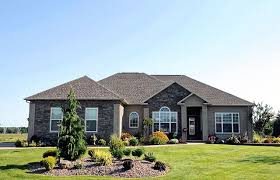 one story houses house of the week lyons runne subdivision houses big