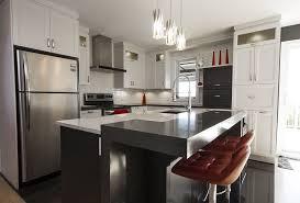 armoire de cuisine stratifié armoires de cuisine contemporaine en polyester deux ton tablette