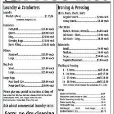 Price To Dry Clean A Comforter Congenial Dry Cleaning Alteration Prices Dry Cleaning Alteration
