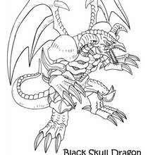 black skull dragon 2 coloring pages hellokids