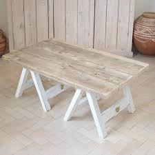 coffee table stunning trestle coffee table design ideas tree