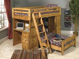 4 Bed Bunk Bed Furniture Mesmerizing The Benefits Of A Loft Bed With Desk In
