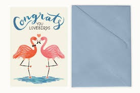 Congratulations Engagement Card 20 Super Fun U0026 Sweet Engagement Cards From Etsy Southbound Bride
