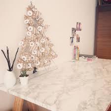 le de bureau deco papier adhésif marbre pour donner plus de cacher aux bureau et petit