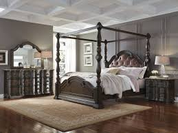 bedroom fabulous king size canopy bed with mirrors king size
