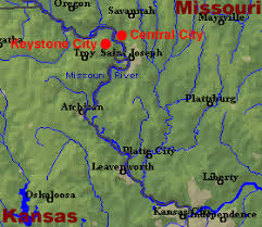 map of dc universe usa central city missouri