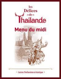 de cuisine thailandaise les délices de thaïlande