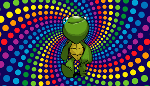 come out of your shell and get trippy with the trippiest of turtles