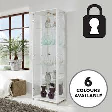 Venetian Glass Display Cabinet Amazon Co Uk Glass Cabinets Home U0026 Kitchen