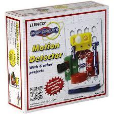 snap circuits motion detector by xump com