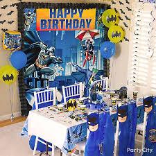 batman party supplies batman party table idea party city
