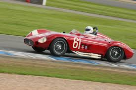 maserati 250s star cars and drivers line up for the 2014 donington historic
