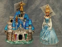 223 3 christopher radko cinderella and castle glass disney
