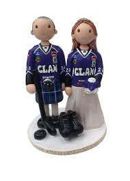 hockey cake toppers hockey wedding cake toppers atdisability