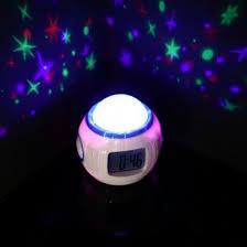 light projection alarm clock projector alarm clock star projection alarm clock colour changing