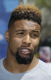 odell beckham hairstyle the evolution of giants odell beckham s hair nj com
