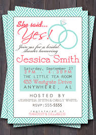 Bridal Shower Invitation Cards Samples Bridal Brunch Shower Invitations Kawaiitheo Com