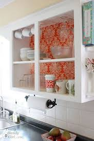 Glass Cabinet For Kitchen Love This Idea Especially For Displaying White Serving Pieces And