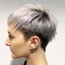 funky hairstyle for silver hair 23 best hair images on pinterest pixie haircuts short cuts and