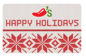 great christmas gift u2013 chili u0027s gift card free 10 gift card with