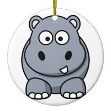 hippo ornaments keepsake ornaments zazzle