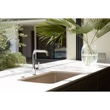 undermount kitchen sink with faucet holes kohler k 5864 5u 0 cape dory white kitchen sinks sinks