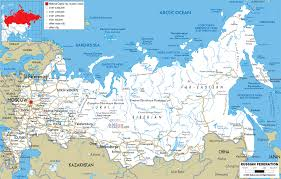 Map Of Usa And Cities by Russia Map And Cities 59 Large Image With Russia Map And Cities