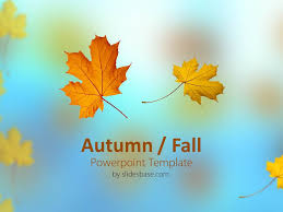 fall powerpoint template roncade info